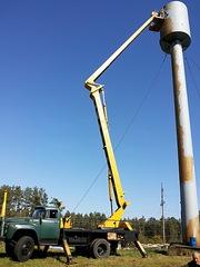 Аренда автовышек с высотой подъема до 22 метров по всей территории РБ.