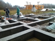 Монолитные работы,  фундаменты под ключ в Солигорском районе